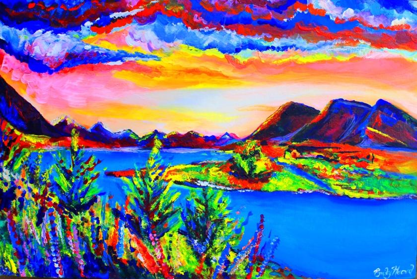 Rainbow Lakes boost 2014