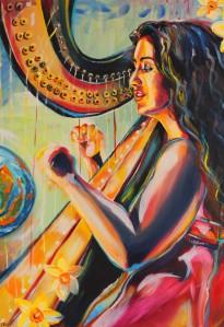 The Harpist 2013