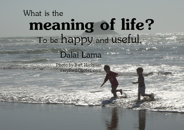 Meaning Of Life Quotes Unique Meaning Of Life Quote  Inspiring Quotes And Words In Life
