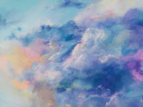 Colourful Sky painting